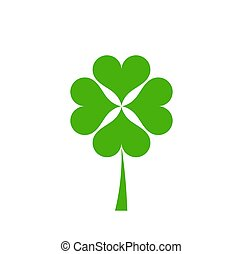 Green clover icon.