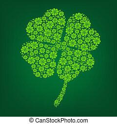 Green Clover Symbol
