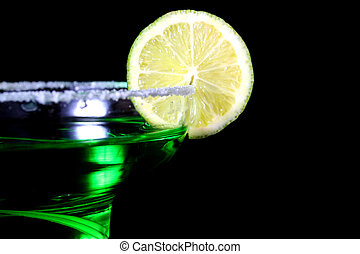 Green Cocktail - Shallow Depth of Field