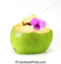 green coconut Water Drink
