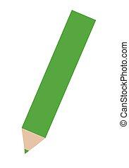 Green Colored Pencil