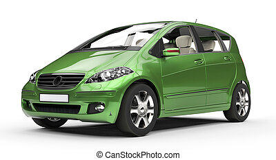 Green Compact Car