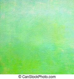 Green concrete background