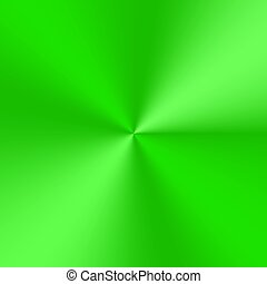 Green conical gradient - Bright green conical gradient....