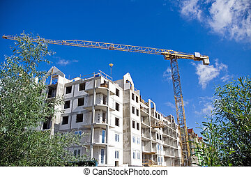 Green construction site