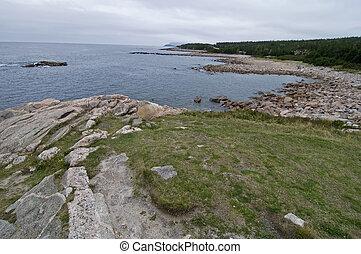 Green Cove, Cape Breton Highlands Nat Park, Nova Scotia, Canada