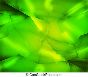 Green Crystal Texture