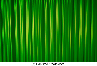 Green Curtain - Green theater curtain background. 3D...