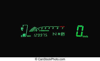 green dashboard