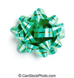 green decoration bow