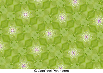 green decoration for cards and background