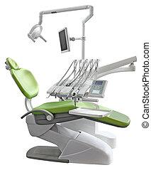 Green Dental Chair