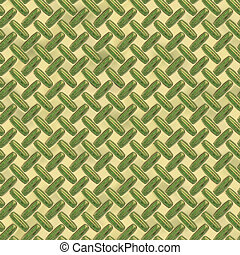 green diamond plate metal