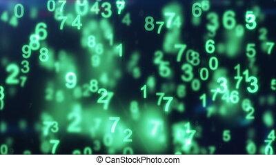 green digital world loop