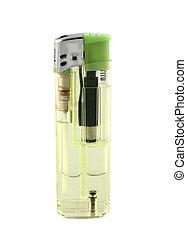 Green Disposable Cigarette Lighter