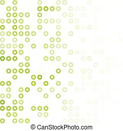 Green Donuts Background, Creative Design Templates