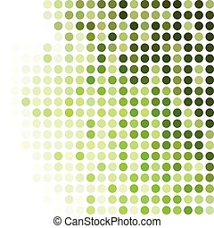 Green Dots Background, Creative Design Templates