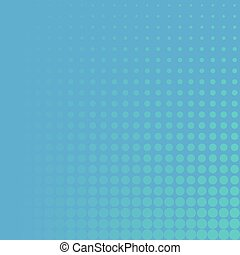 green dots on blue background