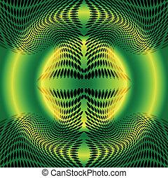 Green dots pattern background