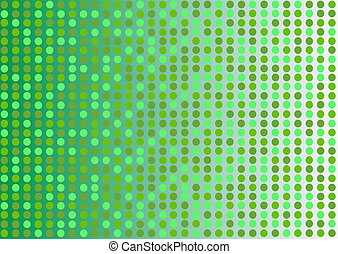 Green dotted background