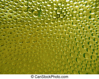 Green Drop water background