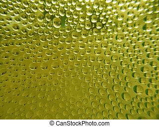 Green Drop water background