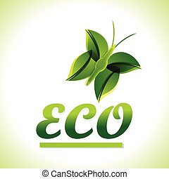 Green Eco Background vector
