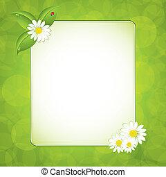 Green eco frame