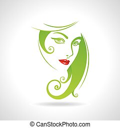 Green eco friendly icon