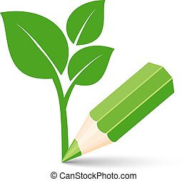 green eco icon