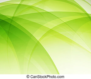 Green eco wave