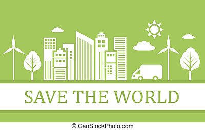green ecological city