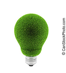 Green electric bulb
