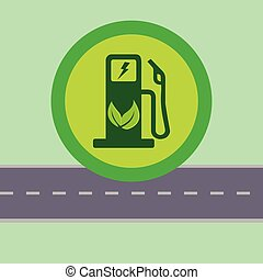 Green electric fuel pump
