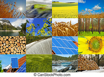 Green Electricity - Various possibilities for the production...