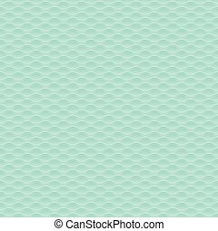 green elegant  3d geometric pattern