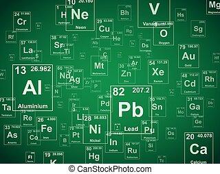 Green Elements Background
