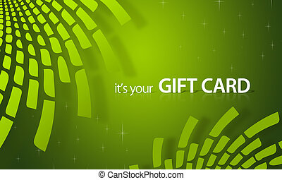 Green Elements Gift Card - High resolution gift card graphic...