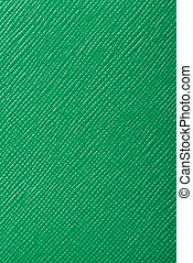 green embossed leather texture background