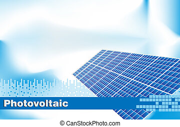 Green Energy - Brochure cover or Business card - Solar...