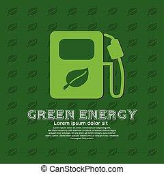 Green Energy Concept.