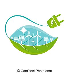 green energy image