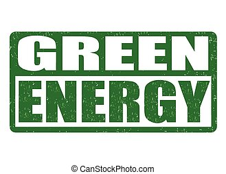 Green Energy stamp