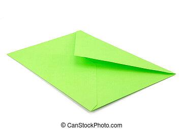 green envelope