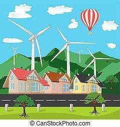 Green environment friendly city