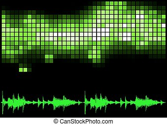 Green Equalizer and Sound Curve