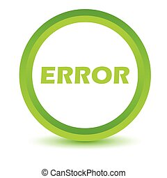 Green error icon