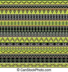 Green ethnic african texture