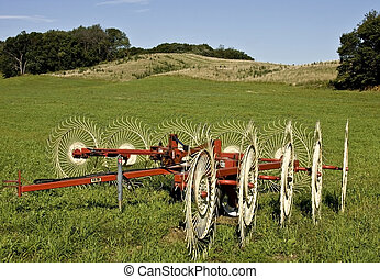 farm fields and meadows