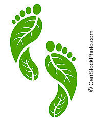 feet - green feets